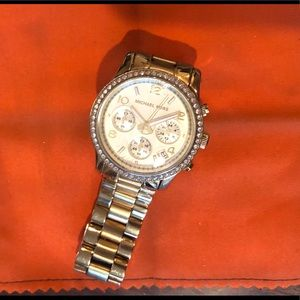 Michael Kors Stainless Steel Gold Watch